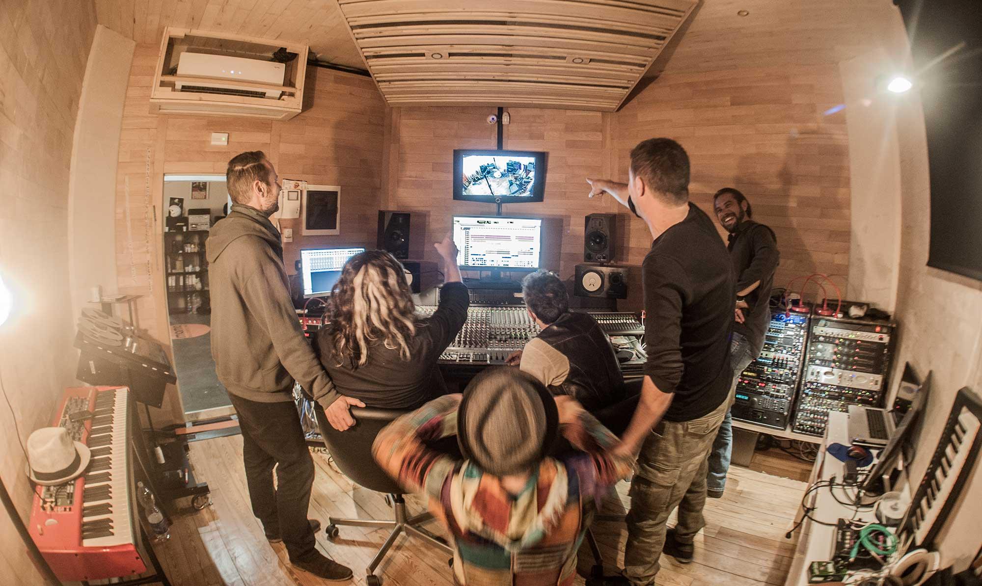 Studio di registrazione a Firenze - Ka Pow Vintage recording Studio